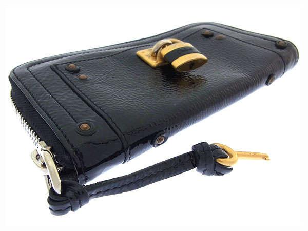 chloe hand bag - Chloe Purse Zip Around Ladies Cadena Keyed Batinton Used J8180 | eBay