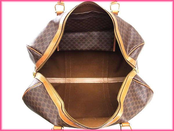 Celine Boston Bag Travel Bag Men Allowed Macadam Brown Light Brown ...