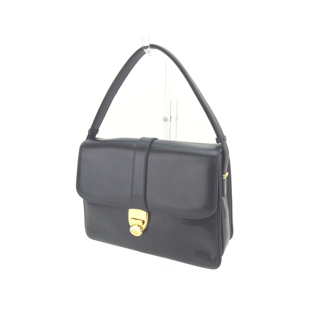 41fdfb46714a Image is loading Gucci-Handbag-Interlocking-Navy-Gold-Woman-Authentic-Used-
